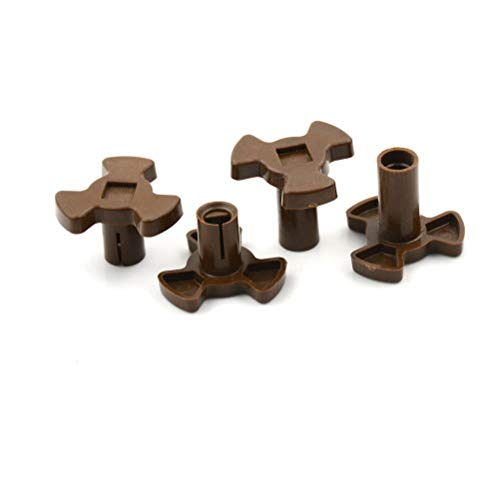 4X Microwave Oven Mica Plates Repairing Part Heat Resistance Turntable Coupler L(2.3CM)