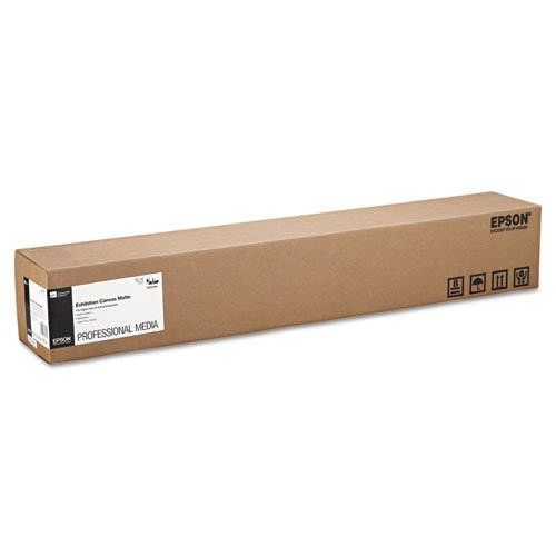 Epsonamp;reg; - Exhibition Canvas Matte, 36amp;quot; x 40 ft. Roll - Sold As 1 Roll - Heavyweight cotton/poly media with an elegant canvas surface. by Epson