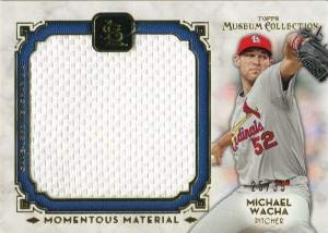 (Michael Wacha Unsigned 2014 Topps Museum Collection Jersey Card - Baseball Game Used Cards)