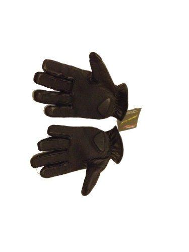 Gants exécutant kevlar & cuir matelassage sable sécurité