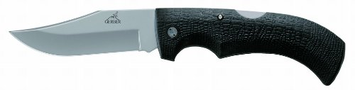 Gerber 06069 Folding Gator Knife – Clip Point, Fine – Box, Outdoor Stuffs