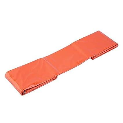 Newgreeny - Saco de Dormir de Emergencia térmico Reflectante, Color Naranja