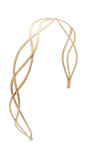 Mrs. President & Co. Women's The Urbanista Headband, 2 Tone Gold, One Size