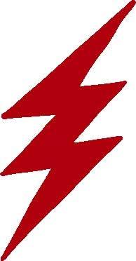 Lightning Bolt Flash Night Sky Vinyl Sticker Decal Car Truck Laptop Window Wall