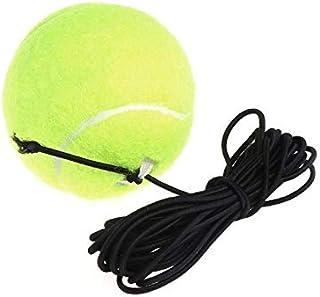 HATCHMATIC New Green Résilience Balles de Tennis Entraîneur Exercice Corde en Caoutchouc élastique Bande Rebond de Formation Tennis