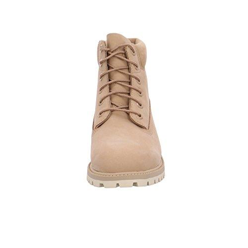 Premium Timberland Boot Mixte Junior Ecru 0Af6zqwfH