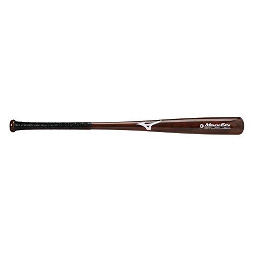 Mizuno Classic Wood Fungo Bat (Mizuno Maple Elite MZM 110 Adult Wood Baseball Bat - Walnut Brown (32