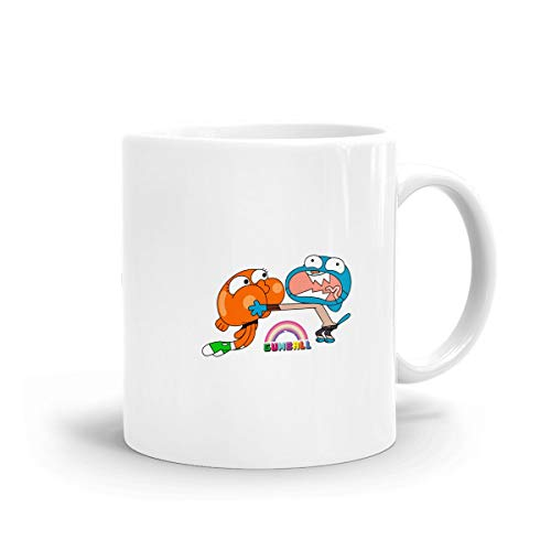 Kurabam Coffee Mug The Amazing World of Gumball Brother Tea Milk Funny Mugs Ceramic Cup Cafe Mug Birthday Gifts