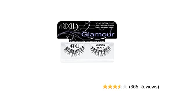 6df54e3248e Amazon.com : Ardell Fashion Lashes Pair - Wispies (Pack of 4) black : Beauty