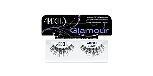 Fashion Ardell (Ardell Fashion Lashes Pair - Wispies (Pack of 4) black)