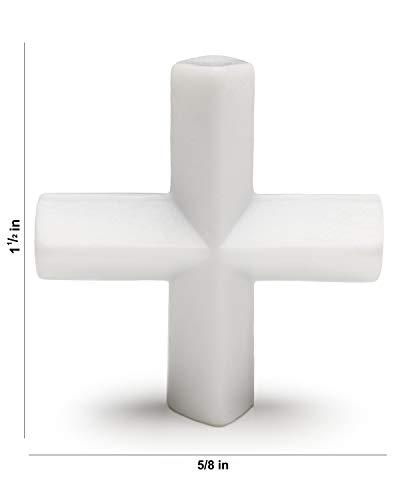 Bel-Art Spinplus Teflon Magnetic Stirring Bar; 38.1 x 15.8mm, White (F37144-0112)