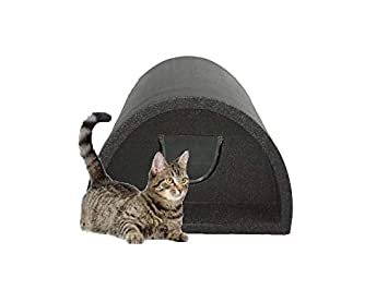 Caseta para gato, color gris, de Cosy Cages: Amazon.es: Productos para mascotas