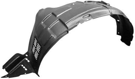 With Sport Package New Front Left Driver Side Fender Liner For 2011-2013 Kia Sorento Made Of Plastic KI1248141 868101U200