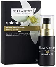 Bella Aurora Sérum Facial Hidratante con Ácido Hialurónico Anti-Arrugas y Anti-Edad 60+ Años, Efecto Lifting, Splendor, 50 Mililitros