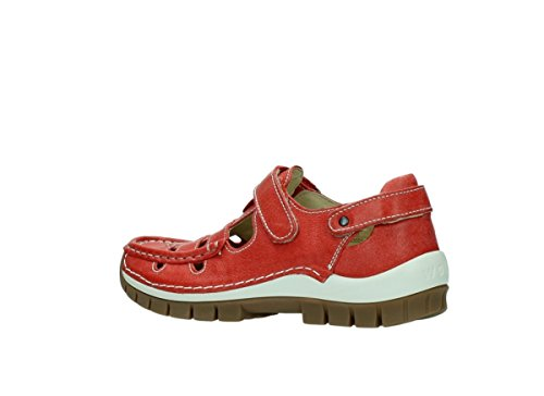 Ka Sandals 30570 Wolky Red Summer Leather 5az0cqOw