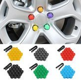 Steering Wheel Nutty Remotion Instrument - 20pcs 17mm Car Wheel Plastic Nut Screw Cap Removal Tool - Cracked Balmy Bicycle Insane Puppet Roll Loony Shaft Kookie Rack Loopy Drive