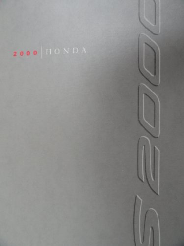 2000 Honda S2000 Sales Brochure