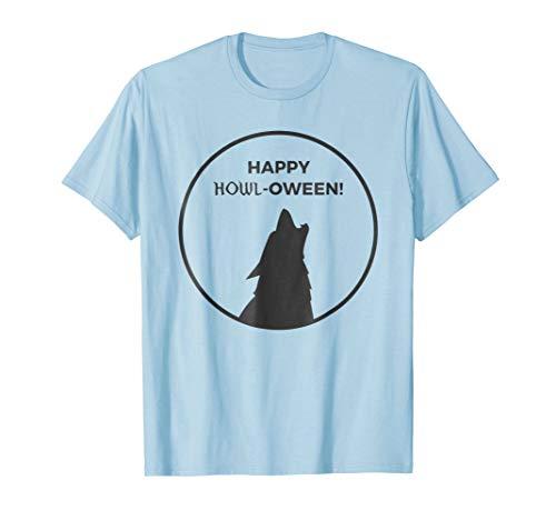 Happy Howl-ween Werewolf Halloween -