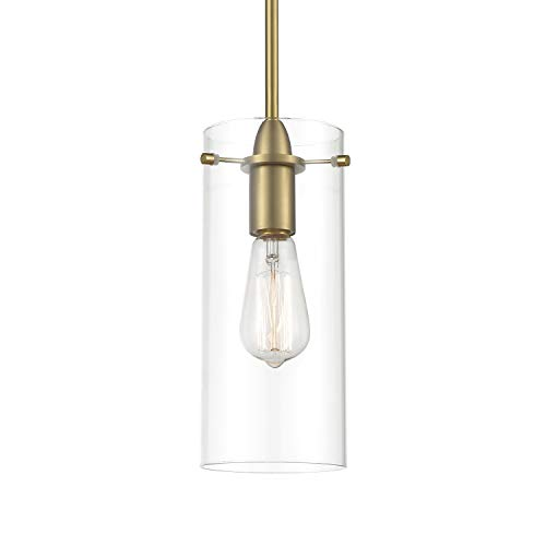 Modern Brass Pendant Light