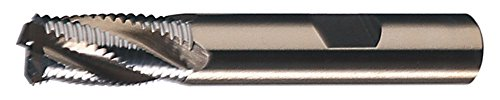 Cleveland C31004 RG5 Multi-Flute Non-Center Cutting Fine Profile End Mill by Cleveland