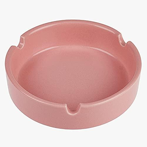 Tafelasbak keramiek roze – Cigless – asbakje – 10cm x 3cm – terras asbak