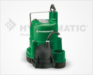 Hydromatic SD50A1 Submersible Sump/Effluent Pump, 10' Power Cord