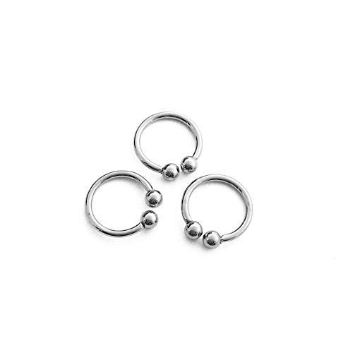 HONEYCAT Silver Ear Cuffs (set of 3) | Minimalist Delicate Jewelry (S) ()