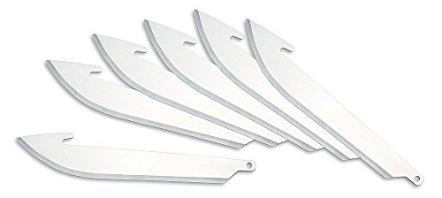 Outdoor Edge 3.0 Inch Razor Series Replacement Blades -- 6 B