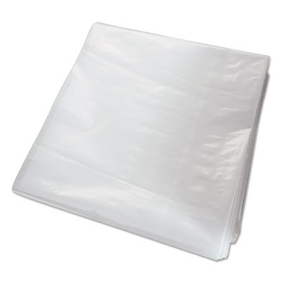 Can Liner, Gusseted, 82.5 X 70, 1.5 Mil, Clear, 100/case