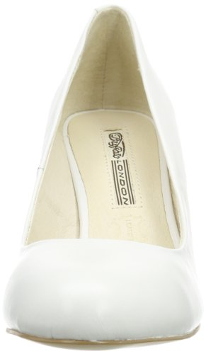 London 113 Leather weiß Blanco Buffalo 2879 Silk 1 white Zapatos Mujer d4WRwx
