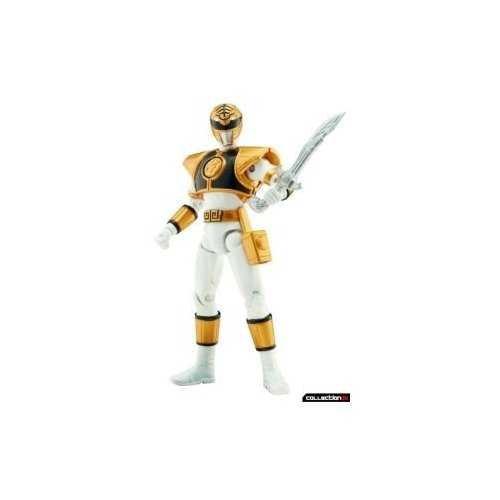 Power Rangers Super Legends Collectible Action Figure White Ranger (Super Ranger Legends)