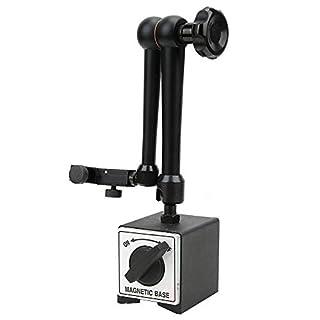 Universal Magnetic Base Holder,Digital Dial Indicator Gauge Holder,Heavy Duty Adjustable Metal Test Indicator Magnetic…