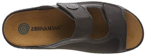 womens Dr Brinkmann schwarz Pantolette schwarz 701130 1 5nfdRnxw
