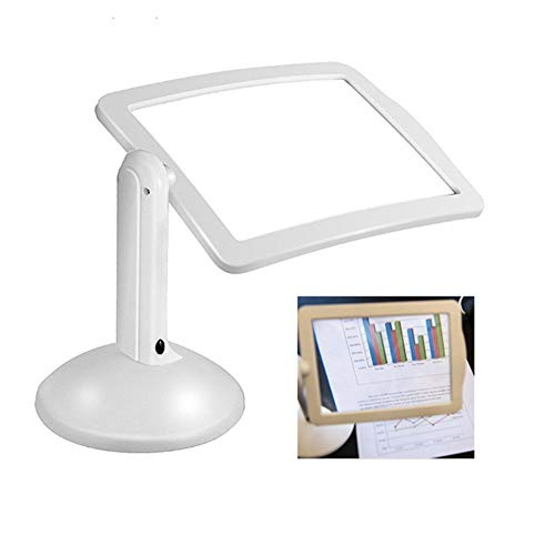 Led Desktop Magnifier, Hands Free Magnifying Glass With Lamp Light For Hobby, Crafts, Inspection, Reading, Jewelry,model Building, Soldering, Etc