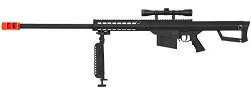 Lancer Tactical M82 50 Cal Spring Airsoft Sniper Rifle Gun M