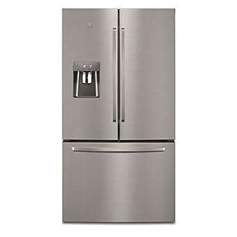 Electrolux - Frigorífico americano 91 cm, 536L a + + NoFrost acero inoxidable - en6086mox: Amazon.es: Grandes electrodomésticos