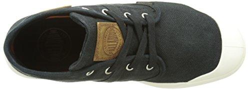 Palladium Pallaru Midlc M - Zapatillas de deporte Hombre Negro - Noir (585 Black/Marshmallow)