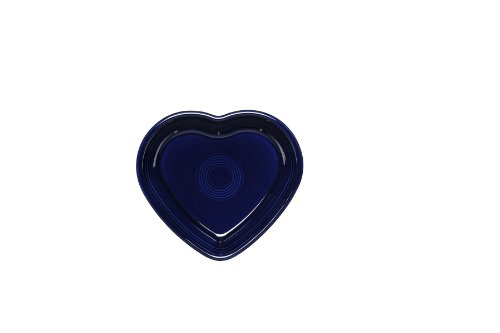 Fiesta 17-Ounce Heart Bowl, Medium, Cobalt