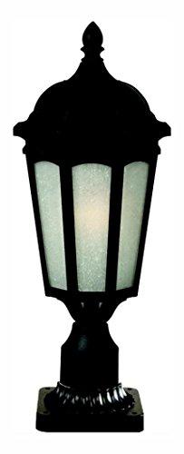 508PHM-BK-PM Black Newport Single Light 21-21/32