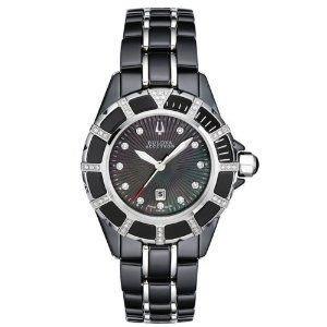 腕時計 Bulova Accutron Womens Mirador Ceramic Watch 65r132【並行輸入品】 B00PFNSGMQ