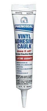 Dap 00101 White Phenoseal Does It All Vinyl Adhesive Caulk ()