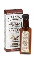 (Watkins Double Strength Imitation Clear Vanilla Extract 2oz)