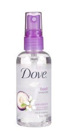Dove Go Fresh Body Mist Rebalance Plum & Sakura Blossom Scent, 1 Ounce (Pack of 36)