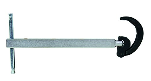 General Tools 140XL Telescoping Basin Wrench Large Jaw, Extends from 11 to 16-Inches, Fits 1 to 2 Inch by General Tools