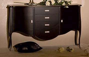 Muebles Natural – Aparador Modelo Goya con 4 cajones y 2 Puertas y ...