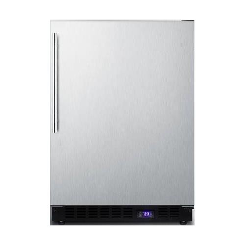SCFF53BXCSSHVIM Built-In Undercounter Freezer With 4.72 Cu. Ft. Capacity Factory Installed Icemaker Open Door Alarm Digital Thermostat Frost- Free Operation in Stainless Steel Construction.