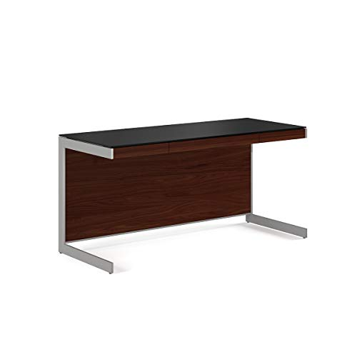 BDI 6001 CWL Sequel Office Desk, Chocolate Stained Walnut