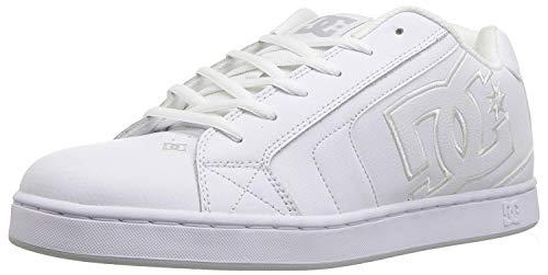 Mens DC Net SE Skate Shoe White, 12 D D US ()