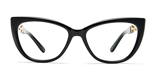 TIJN Cat Eye Acetate Optical Frame Eyeglasses Designer Glasses for - Eye Eyeglasses Cat Designer