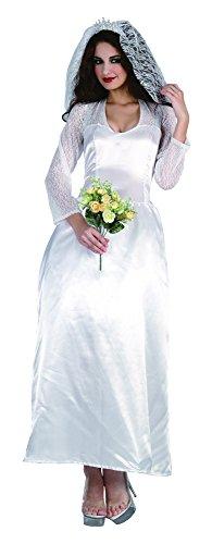 Bristol Novelty AC031 Bride Royal Family Costume, UK 10-14 -